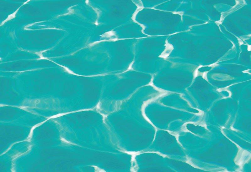 Eau' au de piscine verte